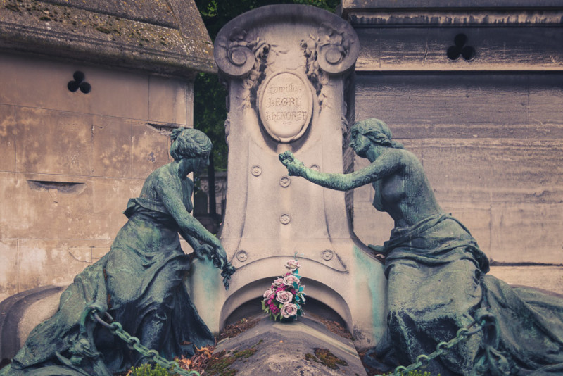 Pere Lachaise Cemetary Photo Gallery in Paris, France