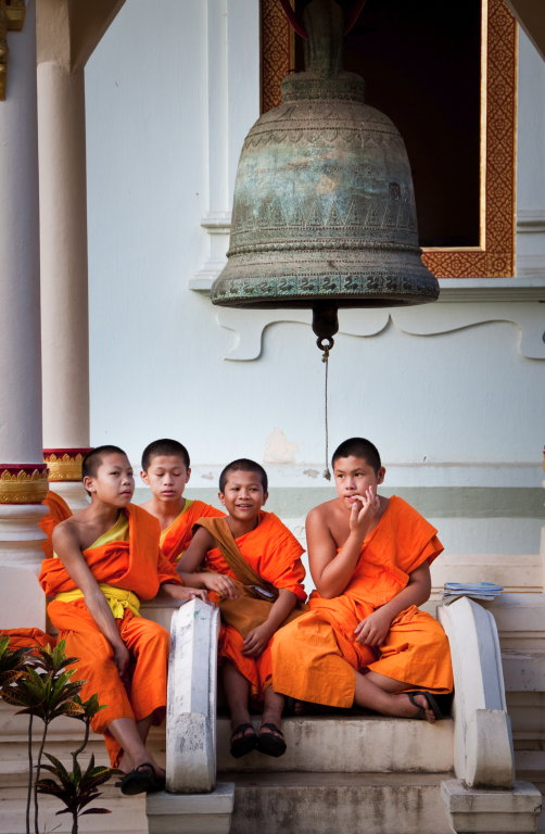 Young Monks - Chiang Mai