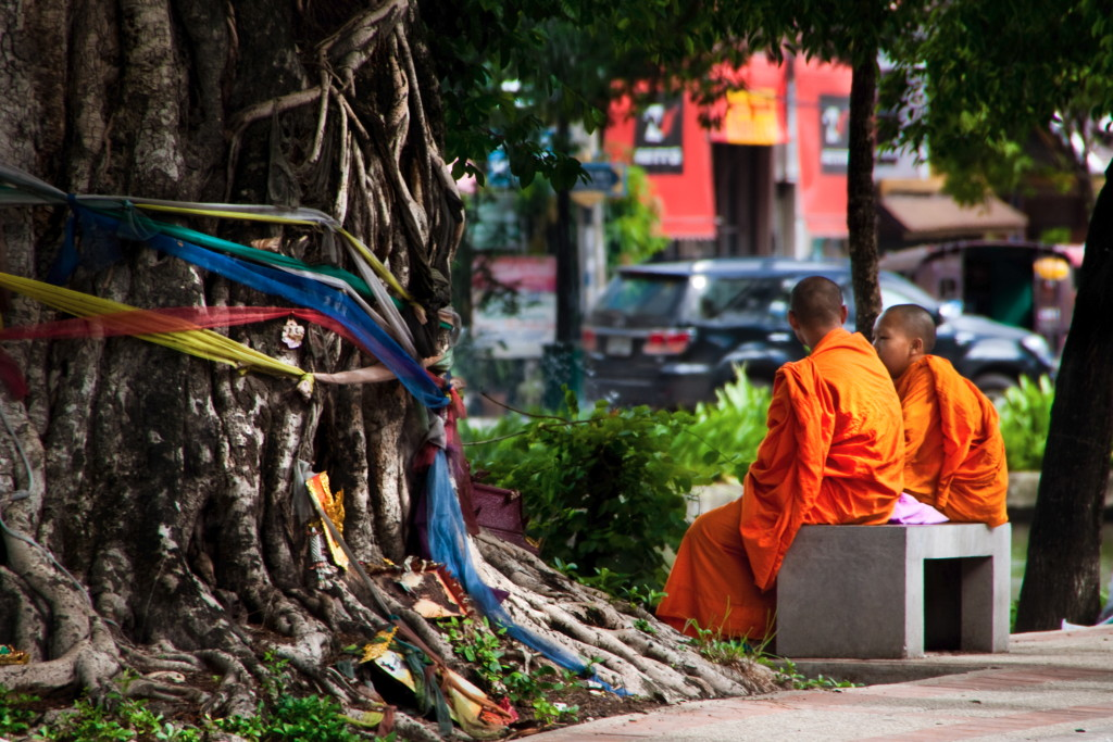 Chatting Monks - Thailand