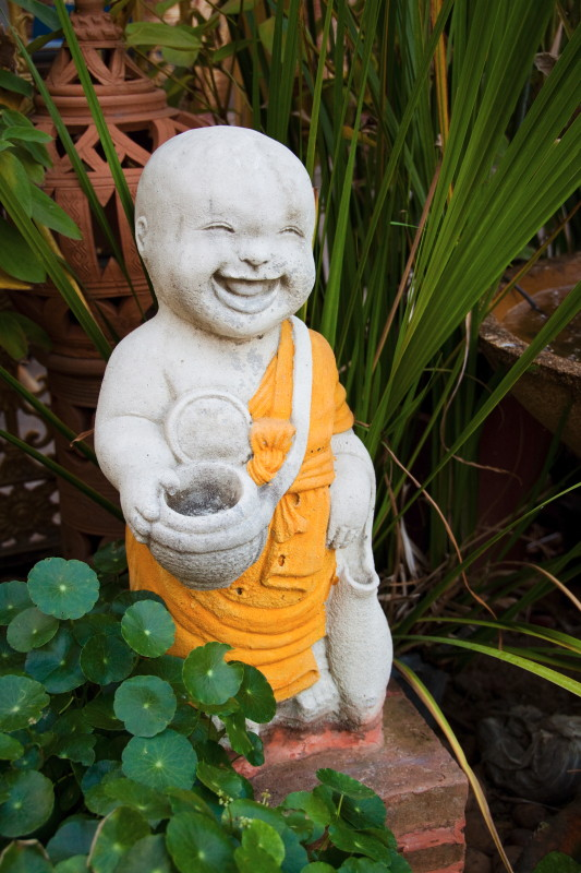 The Happy Monk Statue - Thailand