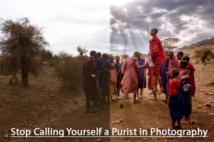 Stop calling yourself a purist in photography