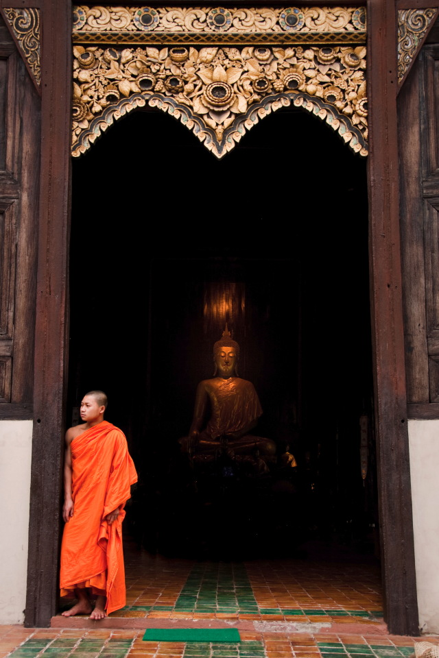 Buddha and the Monk - Thailand