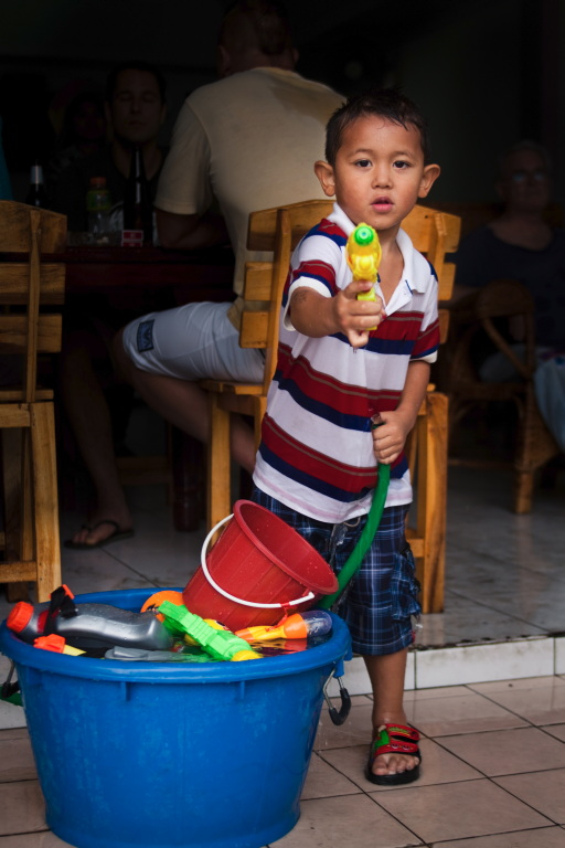 Photo Essay: Children of Songkran