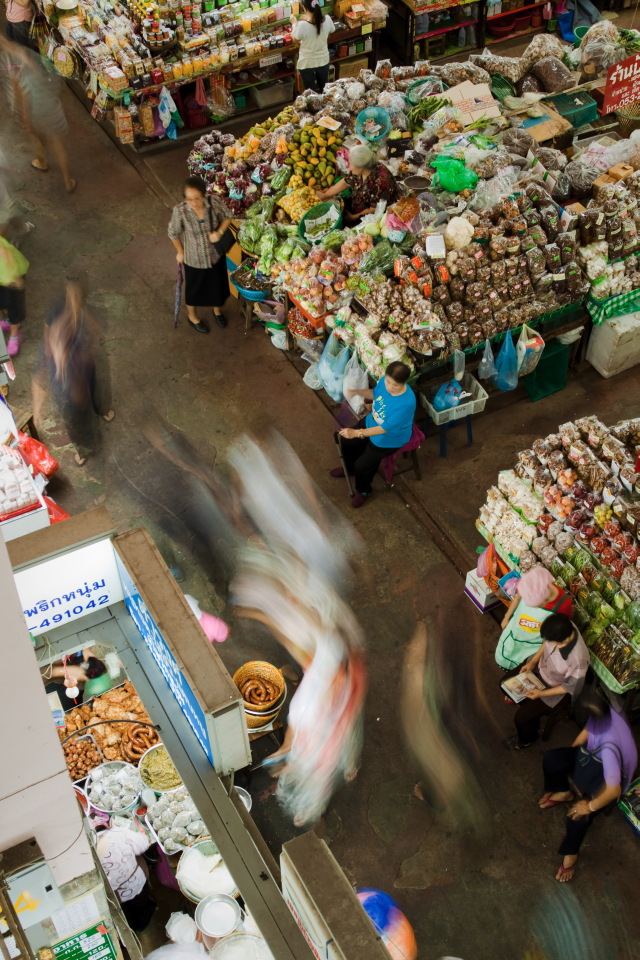 Market Ghosts - Thailand