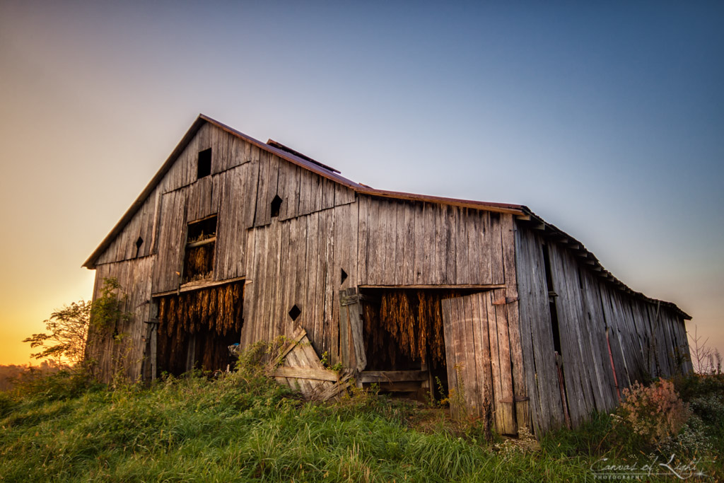 How I Edited It Quot The Old Barn Quot Usa