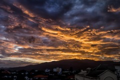 Sunsets from a Chiang Mai Balcony ~ Thailand