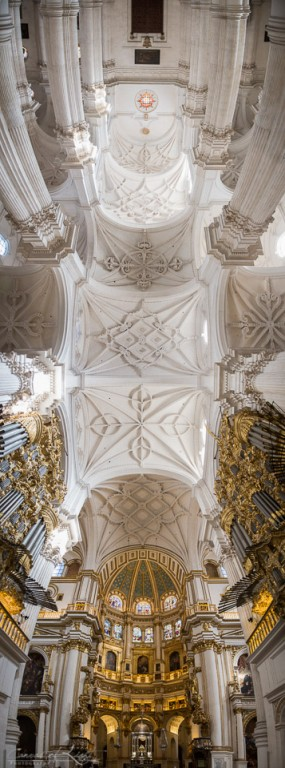 Granada Cathedral Panorama - Spain