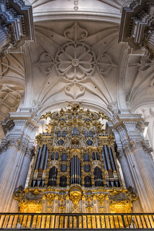 Granada Cathedral Pipe Organ - Spain