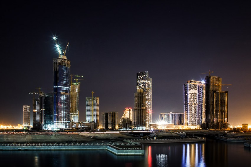 New Abu Dhabi Skyline
