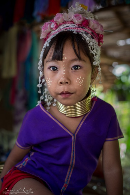 Young Padong Girl - Thailand