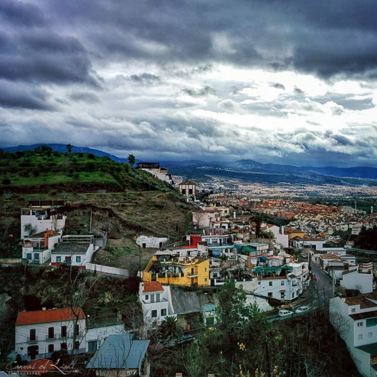 Overlooking the city - Spain