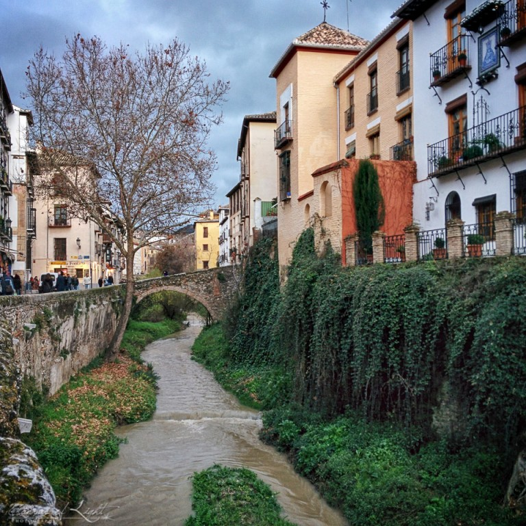 Small River in Granada - Spain