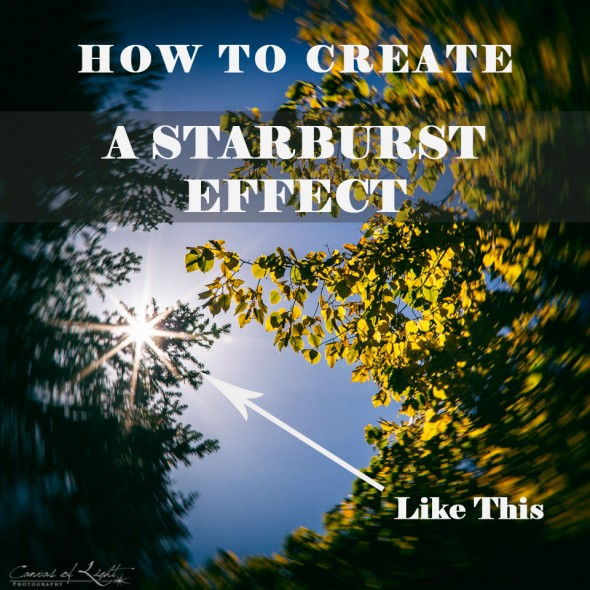 How to create a Starburst effect in your photos