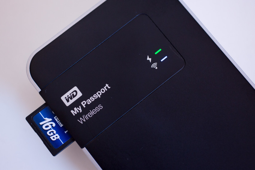 WD My Passport Wireless HDD review
