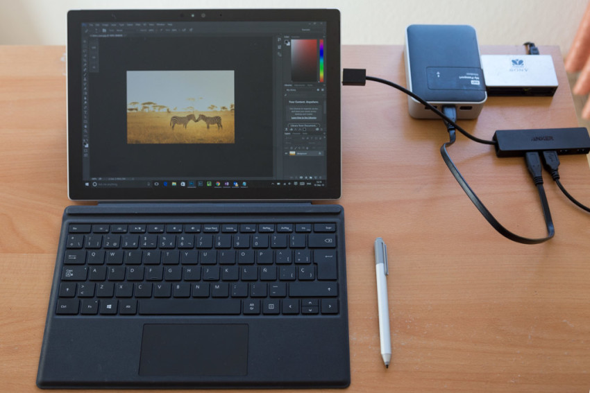 SP4 setup for photography editing