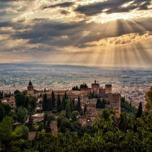 Overlooking the Alhambra ~ Granada, Spain