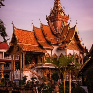 Wat Buppharam, the Sunset Temple ~ Thailand