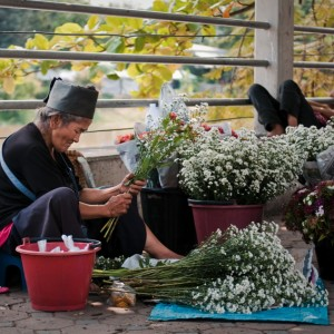 The Flower Lady ~ Thailand