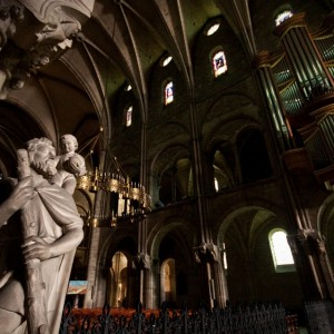 St. Christopher Basilica in Reims ~ France