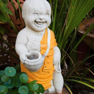 The Happy Monk Statue ~ Thailand