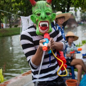 Songkran, the Thai New Year ~ Thailand