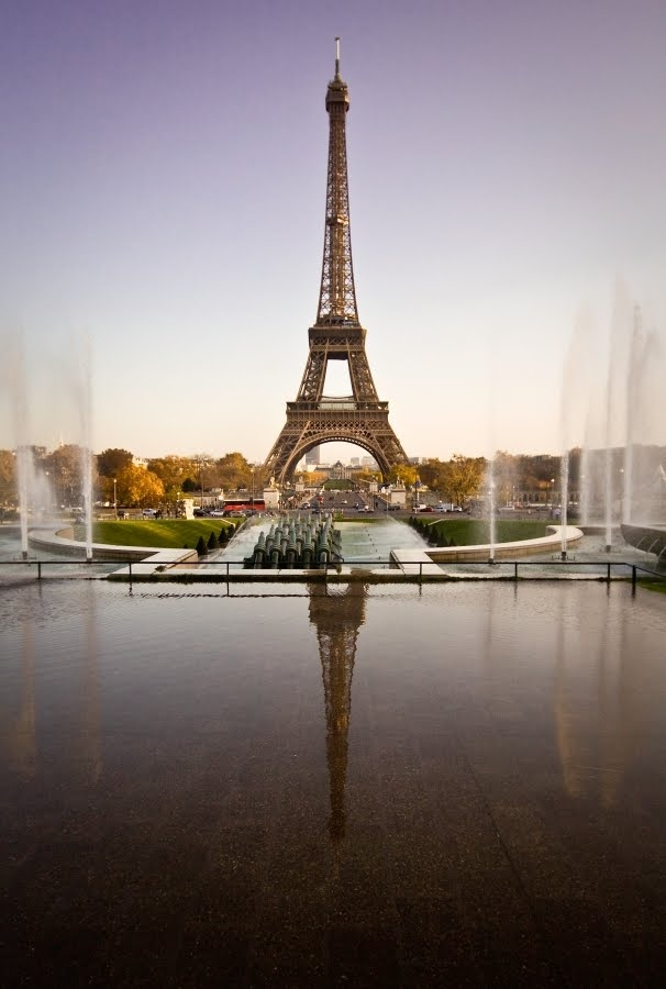 the tour eiffel as a french icon in paris france