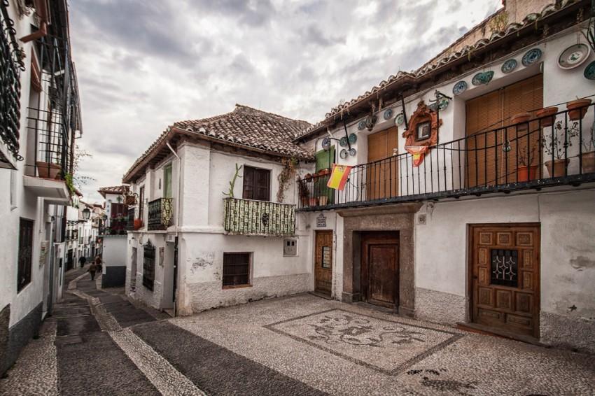 Albayzin Street ~ Granada, Spain