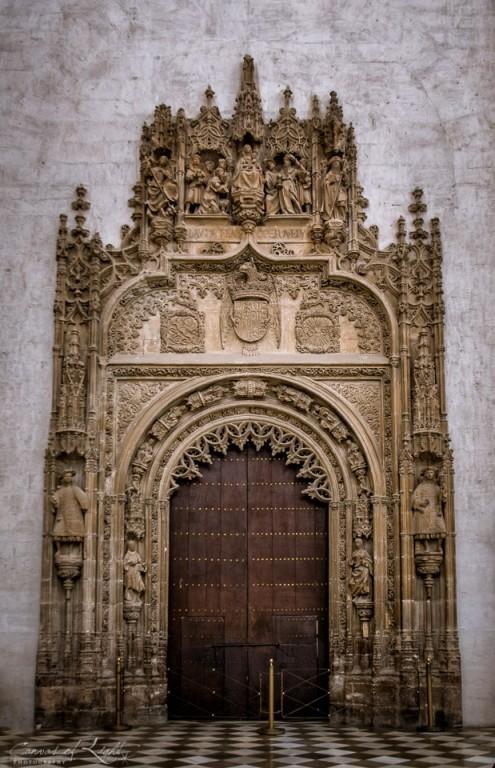 Granada Cathedral Door - Spain