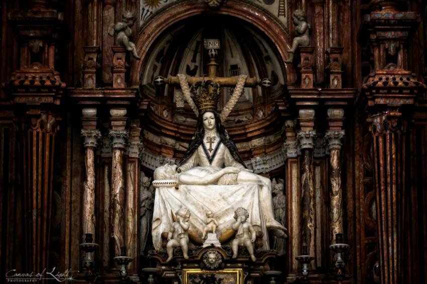 Mater Dei Statue - Granada Cathedral