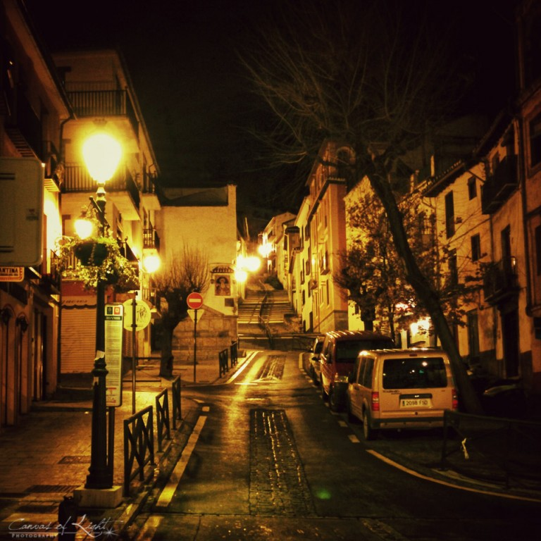 Rainy Granada Nights - Spain