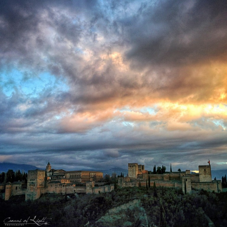 Alhambra at Sunset - Spain
