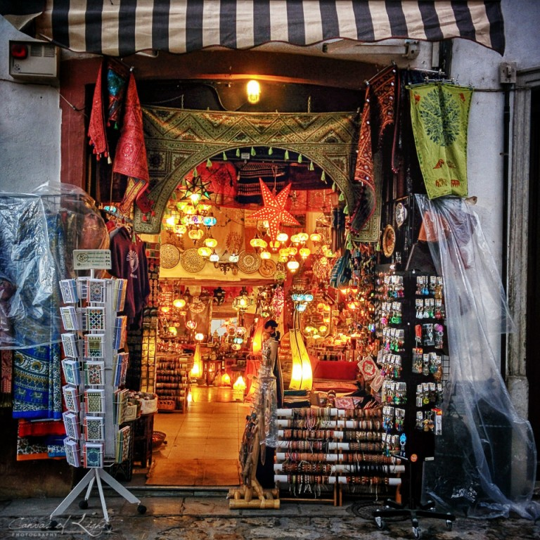 Moroccan Shop in Granada - Spain