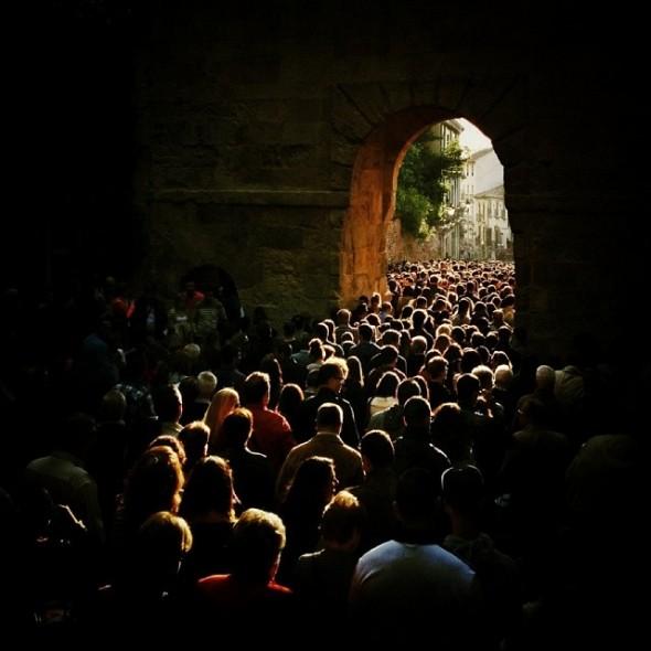 Procession during Semana Santa