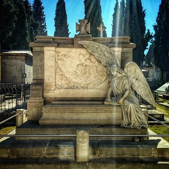 The San José Cemetery in Granada