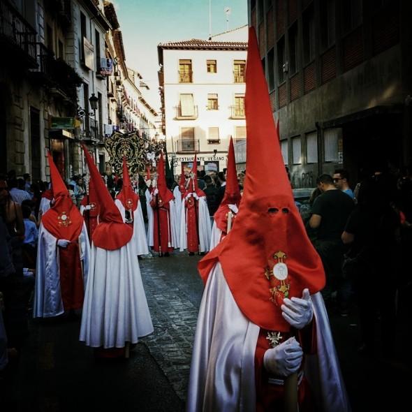 Semana Santa in Granada.