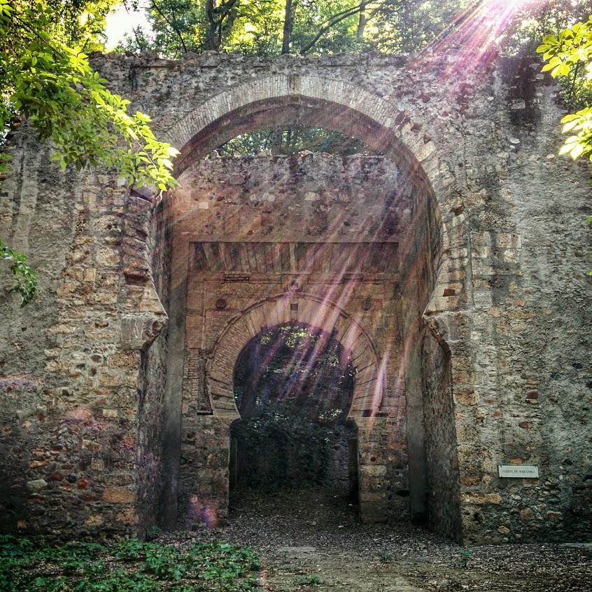 Bib-Rambla Gate in Granada.
