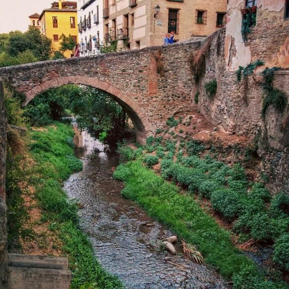 Darro River in Granada