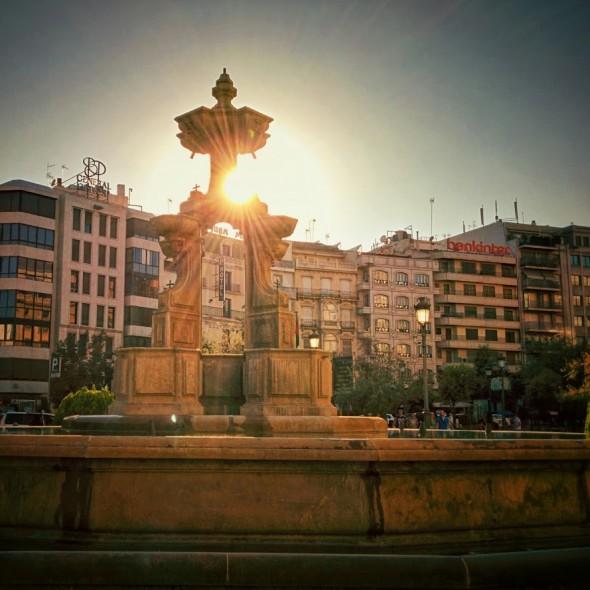 Fuente de la Batallas in Granada