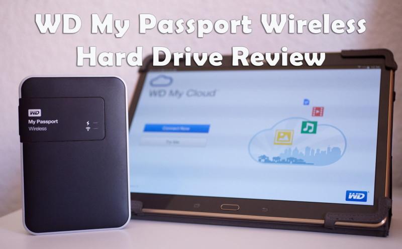 WD MyPassport Wireless Hard Drive review