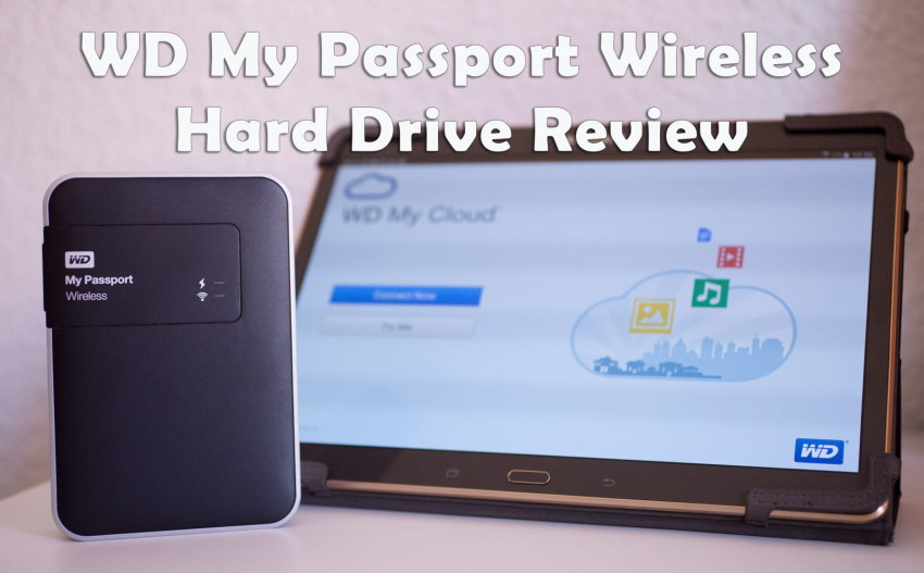 WD MyPassport Wireless Hard Drive review