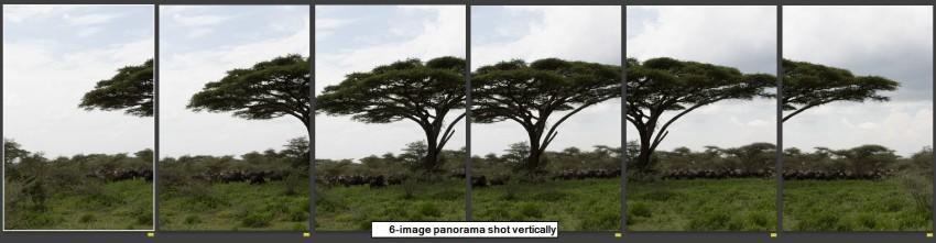 6-image panorama
